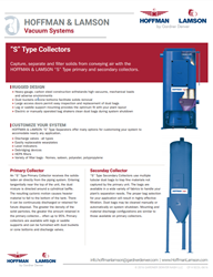 HOFFMAN & LAMSON S Collector Vacuum Systems
