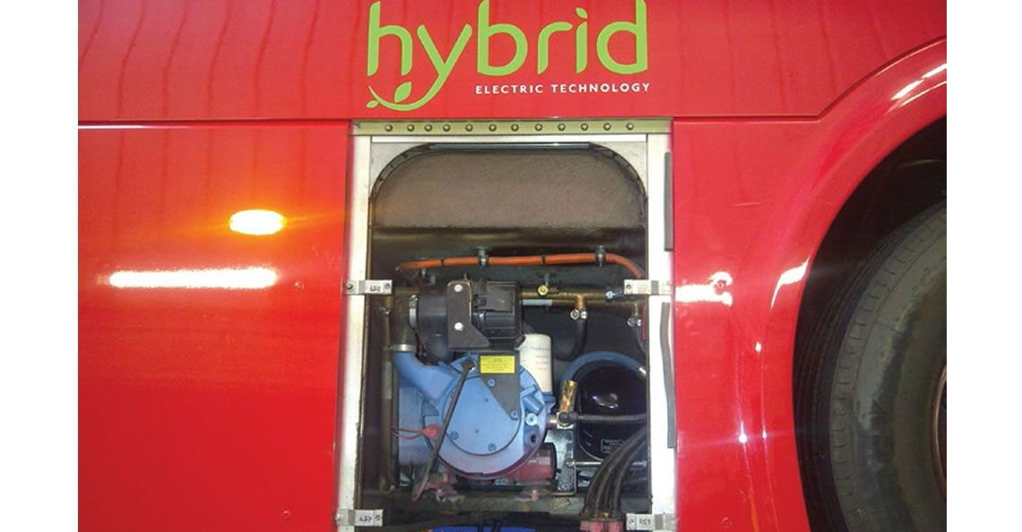 HydroVane Hybrid Bus for London
