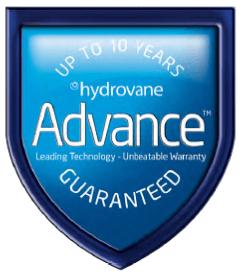 10 Years of Warranty for Hydrovane Products