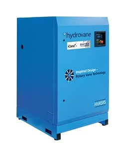 Hydrovane HV45 Rotary Vane Compressor with iConn Smart Monitoring System