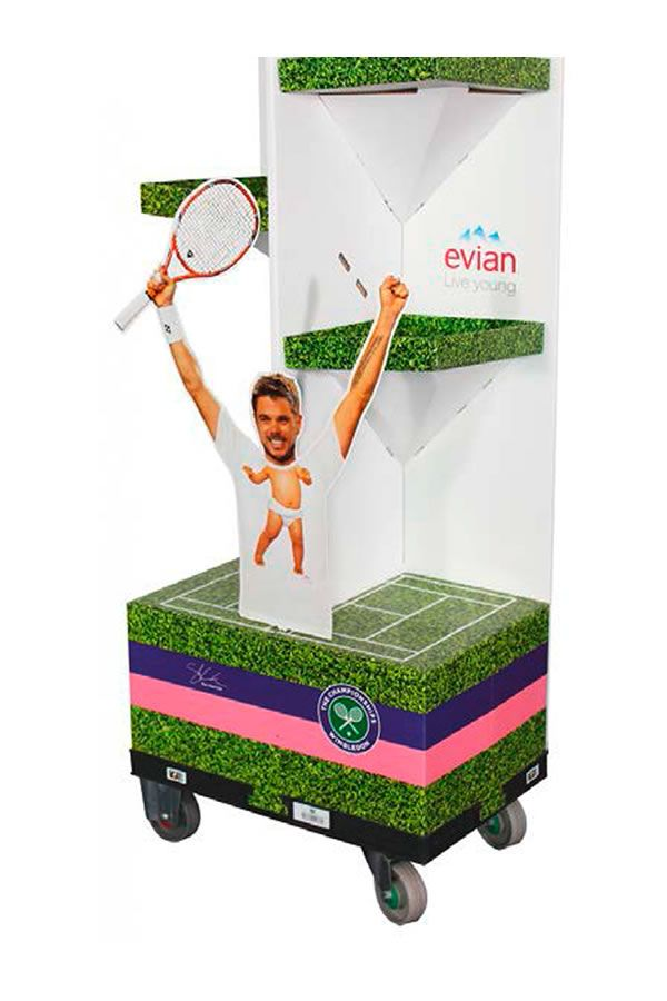 Evian Trolley