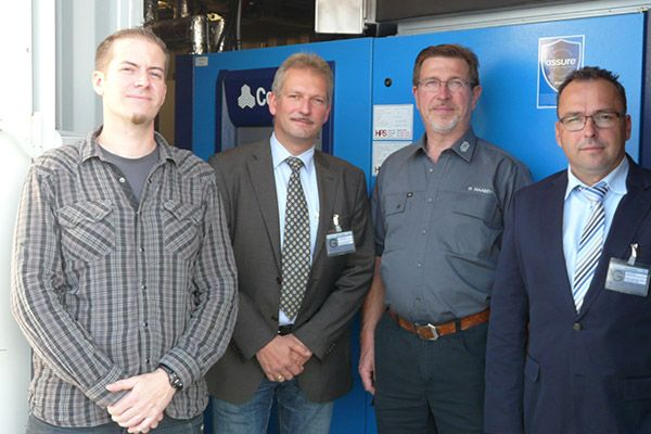 GKD Compressors Installation Team