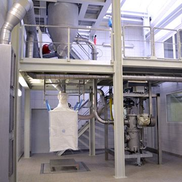 Acu Pharma in the Factory