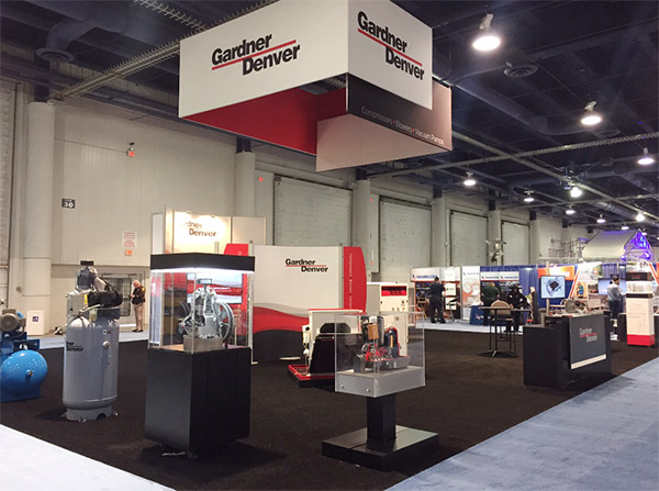 Gardner Denver reputation for excellence on display at ConExpo Con Agg 13 Apr 2017