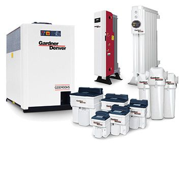 Air Treatment and Nitrogen Generation - energy efficient solutions from Gardner Denver