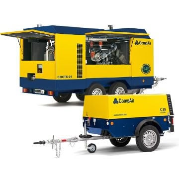 Portable Air Compressors – one step ahead for reliable mobile compressed air