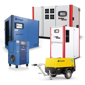 Lubricated Rotary Screw Compressors