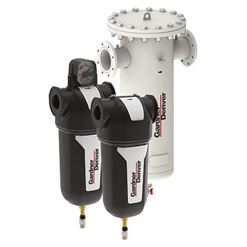 Gardner Denver compressed air filters
