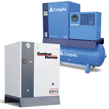 rotary screw compressors-5kw