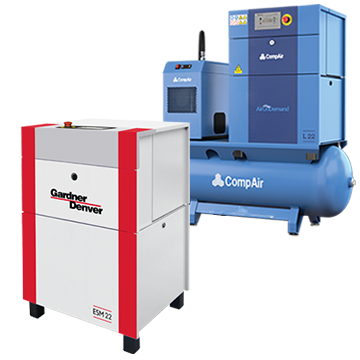 screw air compressors 7-30 kw range