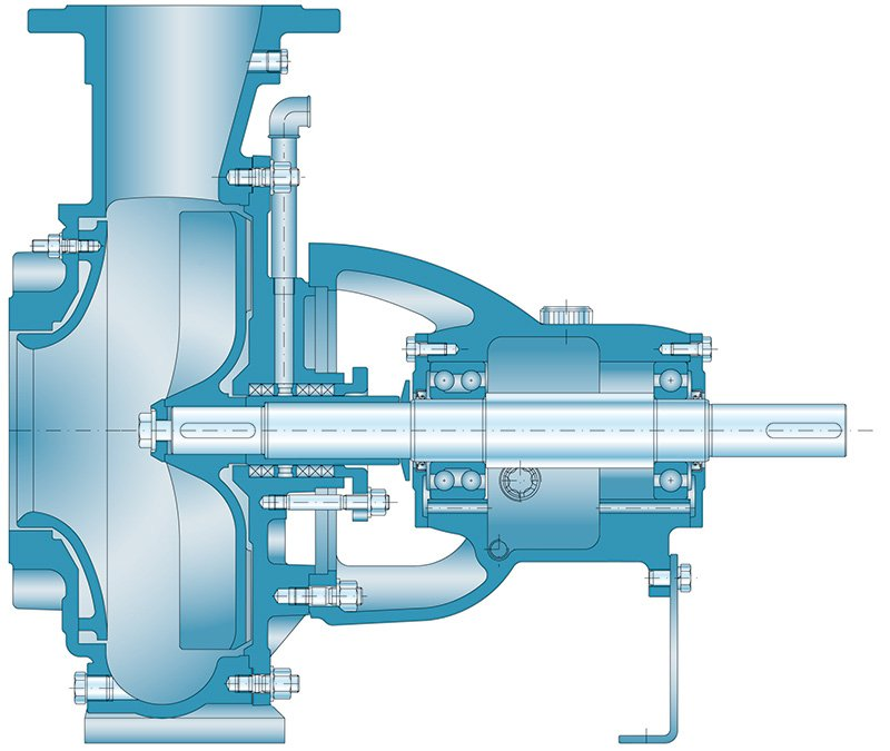 drawing promix centrifugal pump priniple