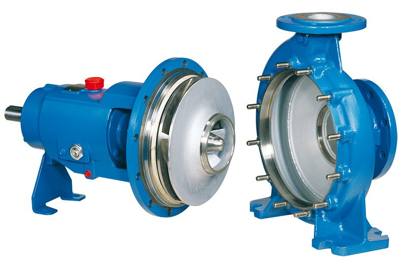 Opened centrifugal pump