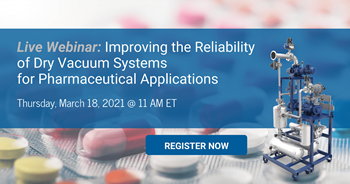 Improving the Reliability of Dry Vacuum Systems for Pharmaceutical Applications Webinar from Nash