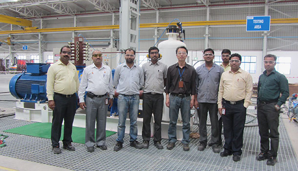 Nash Pune Team with First ETO Package