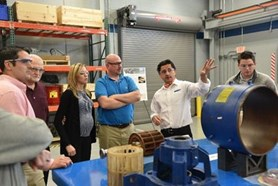 NASH Employees Tour the R&D Lab and Marine Building