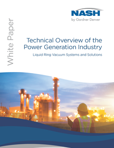 Technical Overview of the Power Generation Industry