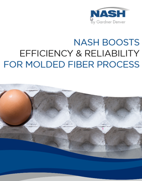 Vacuum Solutions For Molded Fiber Processing