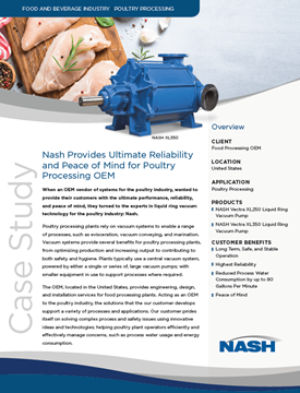 Nash for Poultry Processing