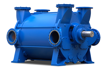 2BE4 Liquid Ring Vacuum Pump Compressor 2,000 to 32,200 m3/h (1,177 to 18,952 CFM)