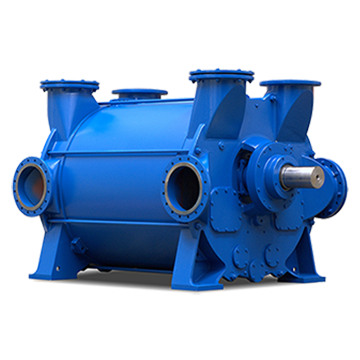 2BE4 Liquid Ring Vacuum Pump Compressor 2,000 to 32,200 m3/h (1,200 to 19,000 ACFM)