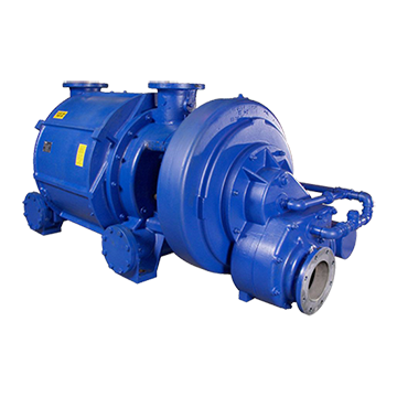 AT Double Stage Liquid Ring Vacuum Pump 680 to 4,750 m3/h (400 to 2,796 CFM)