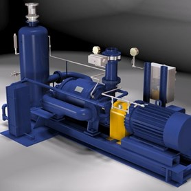 TC-9 Condenser Exhauster with Anti-Cavitation
