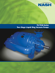 TC/TCM Series Two Stage Liquid Ring Vacuum Pumps