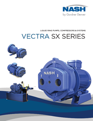 NASH Liquid Ring Pumps, Compressors & Systems - Vectra SX Series