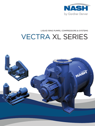 NASH Liquid Ring Pumps, Compressors & Systems - Vectra XL Series