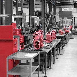 Reavell High Pressure Air Compressors Assembly Line