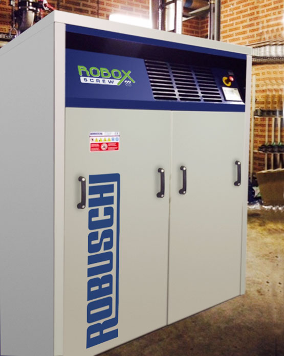 Robox Screw Compressor at Work