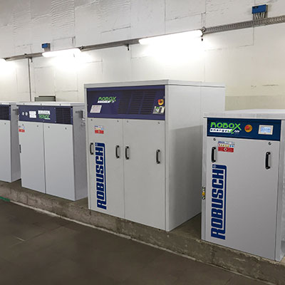 Robox Energy Dimaro Compressors at Work