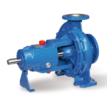 Blue Clear Liquid Centrifugal Pump