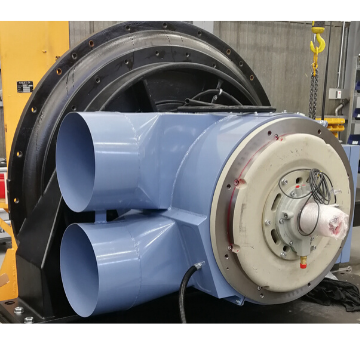 The new EP650 Turbo Blower motor by ABB