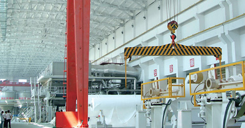 Production-line-of-Hengan-tissue-paper