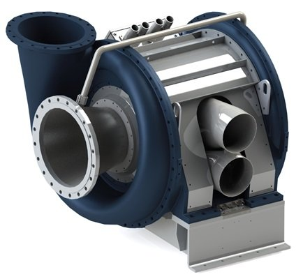 single-stage speed-controlled turbo blower