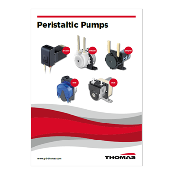 thomas peristaltic pumps catalog