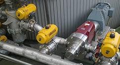 fluid transfer pump system
