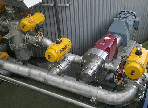 fluid transfer pump system ssp