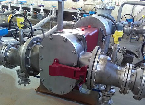 fluid transfer pump system installation