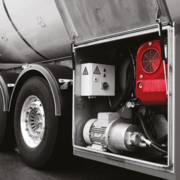 hydraulics for commercial van power systems