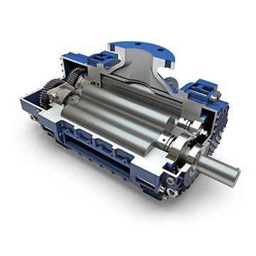 RB-DV Dry and Liquid Waste Vacuum Pump