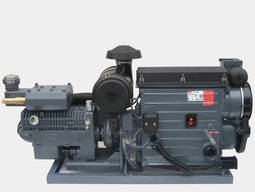 Diesel driven compressor unit