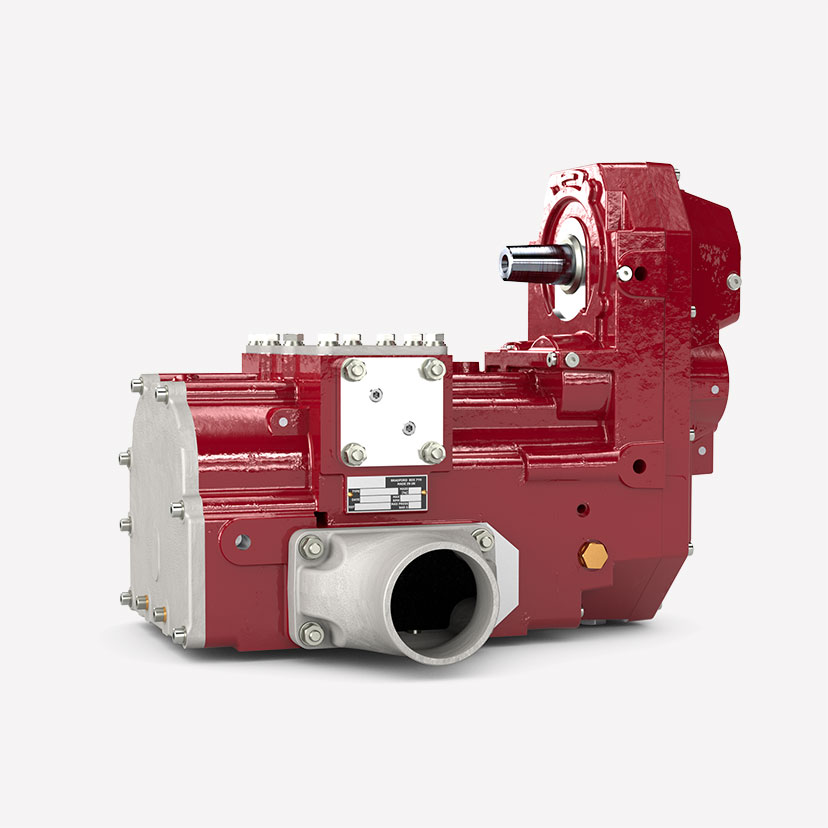 Automotive Screw Compressor for Dry Bulk Applications