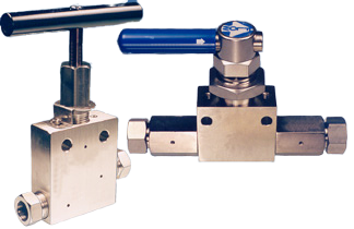 Two-Way Needle & Ball Valves