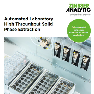 Automated laboratory high throughput solid phase extraction