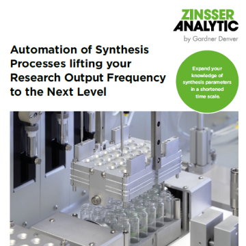 Automation of synthesis processes