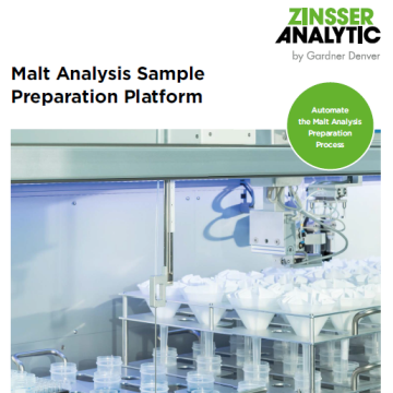Malt analysis sample preparation platform