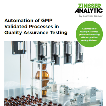 Automation of GMP validated processes
