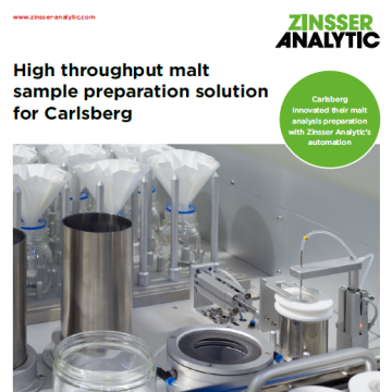 High throughput malt sample preparation solution for Carlsberg